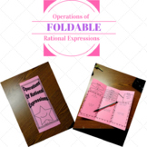 Operations of Rational Expressions Foldable