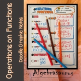 Operations on Functions Doodle Notes or Graphic Organizer