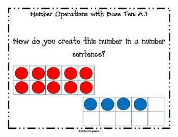 Operations in Base Ten Daily Math Questions: Common Core & Differentiated