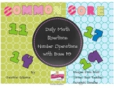 Operations in Base Ten Daily Math Questions: Common Core &