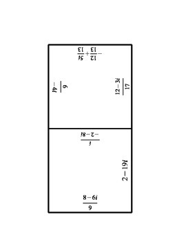 Operations with Complex Numbers
