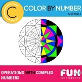 Operations with Complex Numbers Color by Number