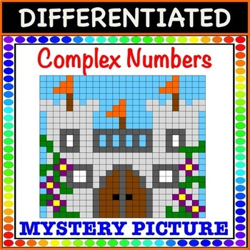 Operations with Complex Numbers - Mystery Picture Color!