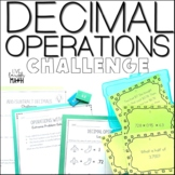 Operations with Decimals Challenge