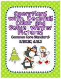 Operations with Decimals Color and Solve
