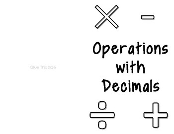 Operations with Decimals (GSE Foundations of Algebra)