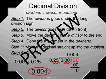 Operations with Decimals Presentation