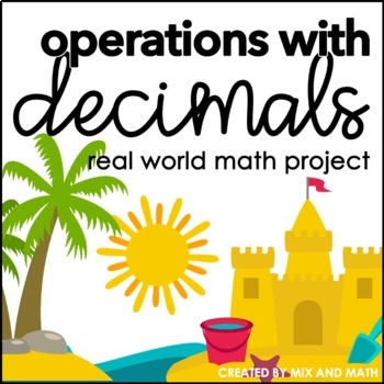 Operations with Decimals Project | Distance Learning