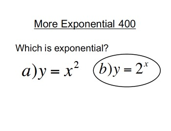 Operations with Exponents and Exponential Functions Jeopardy