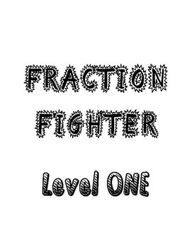 Operations with Fractions Multi-Level File Folder Game