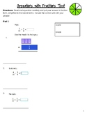 Operations with Fractions Test