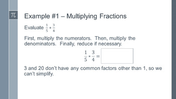 Operations with Fractions and Decimals Unit - Flipped Classroom