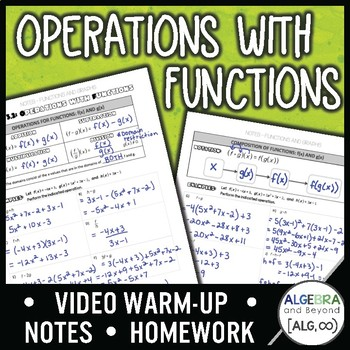 Operations with Functions Lesson