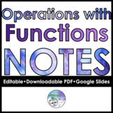 Operations with Functions Notes