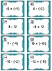 Integers Operations - Matching Task Card Activity