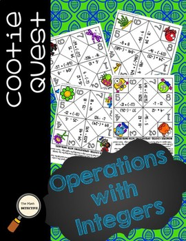 Operations with Integers - Cootie Quest