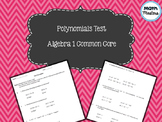 Operations with Polynomials Test