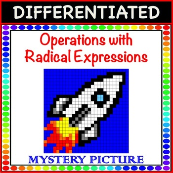 Operations with Radical Expressions -  Mystery Picture Color!