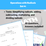 Operations with Radicals - Set #1