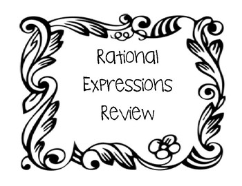 Operations with Rational Expressions Review