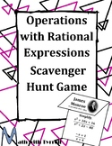 Operations with Rational Expressions Scavenger Hunt Game
