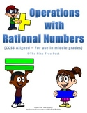 Operations with Rational Numbers Assessment