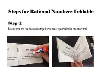Operations with Rational Numbers Foldable 7.NS.1-7.NS.3