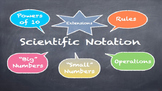 Word Problems with Scientific Notation