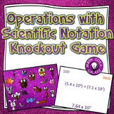 Operations with Scientific Notation Game