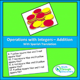 Algebra 1 - Operations with Integers - Addition