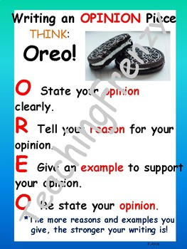 Opinion Anchor Chart Bundle