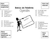 Opinion Banco de Palabras