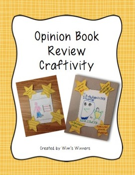 Opinion Book Review Craftivity
