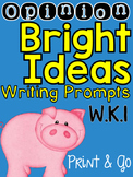 Opinion Writing Prompts