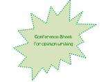 Opinion Checklist Conference