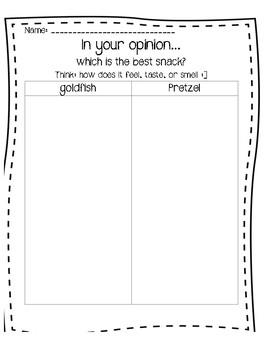Opinion Comparison Chart