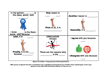 Opinion Conversation Cards