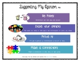 Opinion Graphic Organizer