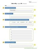 Opinion Graphic Organizer Essay Template Emoji Text Message