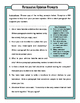 Opinion Writing: Quick Guide with Activities and Printable