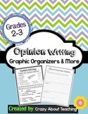 Opinion Graphic Organizers & More