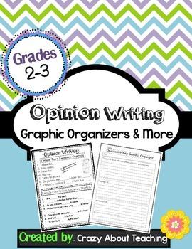Opinion Graphic Organizers & More