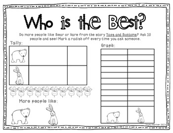 Opinion Graphing and Writing Freebie