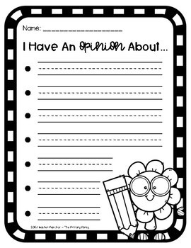 Opinion Letter Writing Pack