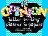 Opinion Letter Writing Planner & Papers