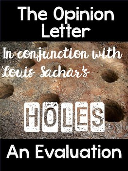Opinion Letter with the Novel Holes