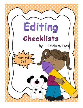 Opinion, Narrative, Informational Writing Checklists