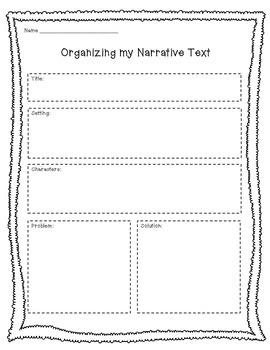 Opinion, Narrative & Informative Writing Graphic Organizers 2-6