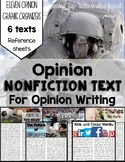 Opinion Nonfiction Text for Opinion Writing