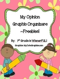 Opinion Organizer FREEBIES!  FREEBIESSSSSSSSS!